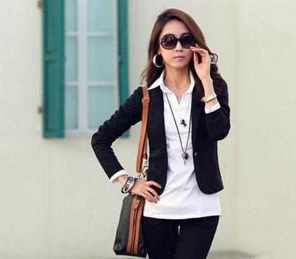 Áo vest công sở phong cách Hàn Quốc