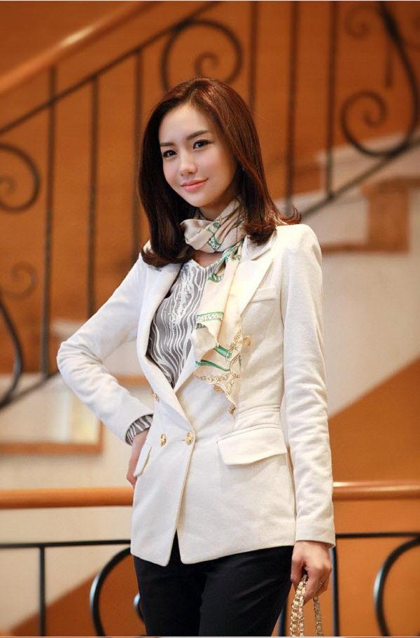 Áo vest nữ Hàn Quốc dáng dài