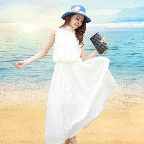 Váy maxi dài dạo biển