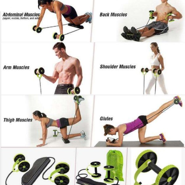 Dụng cụ tập cơ bụng đa năng Revoflex Xtreme