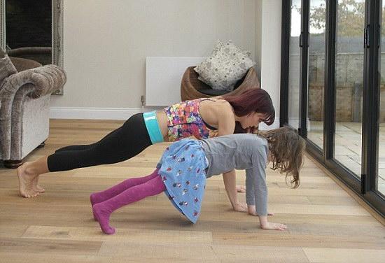 Trẻ em có nên dùng máy tập cơ bụng ?