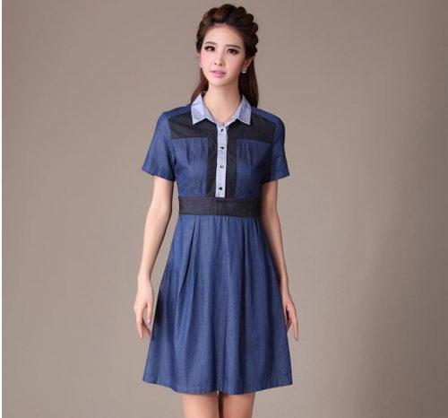 Váy jean trẻ trung cho bạn gái